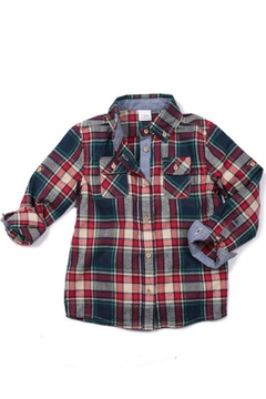 Shoptiques Product: Plaid Flannel Shirt