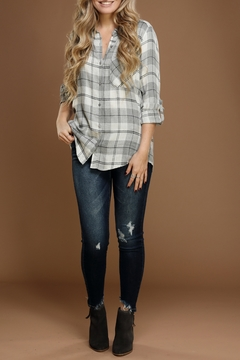 Staccato Plaid Flannel Shirt - Product List Image