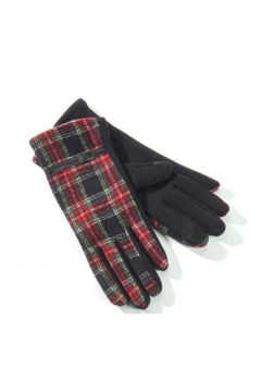 Shoptiques Product: Plaid Gloves
