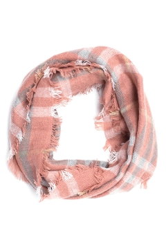 Life Is Beautiful Plaid Infinity Scarf - Product List Image