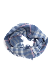 Life Is Beautiful Plaid Infinity Scarf - Product Mini Image
