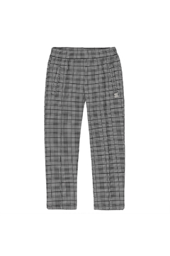 Deux Par Deux Plaid Jersey Tregging - Product List Image