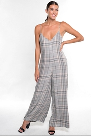 Lovestitch Plaid Jumpsuit - Product Mini Image