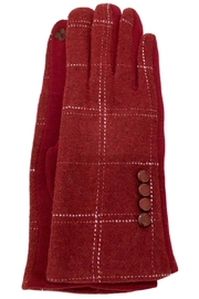 ANTONELLO SERIO Plaid Knit Gloves - Product Mini Image