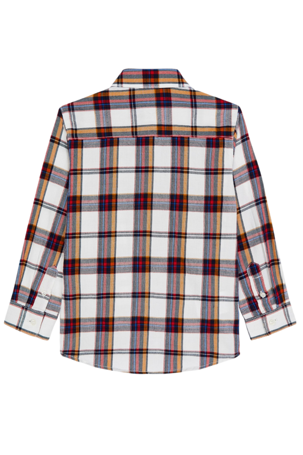 Mayoral Plaid L/S Button Down - Front Full Image