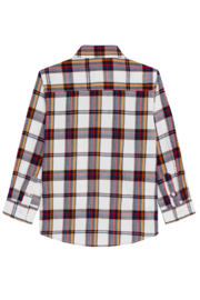 Mayoral Plaid L/S Button Down - Front full body