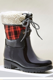 Giftcraft Inc.  Plaid Lace-Up Boots - Product Mini Image
