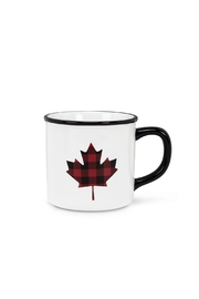Abbott Collection Plaid Maple-Leaf Mug - Product Mini Image