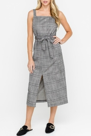 Lush Plaid Midi Dress - Product Mini Image