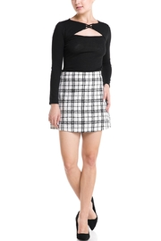 storia Plaid Mini Skirt - Product Mini Image