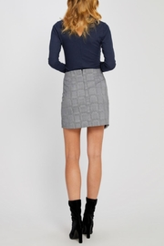 Gentle Fawn Plaid Mini Skirt - Side cropped