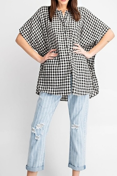 easel Plaid Oversized Cotton - Product List Image
