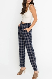 Lush Plaid Pants - Product Mini Image