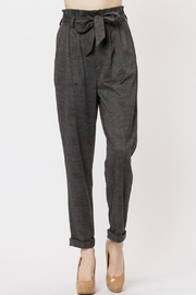 Love Tree Plaid Pants - Front cropped
