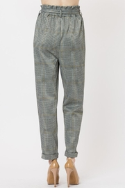 Love Tree Plaid Pants - Front full body