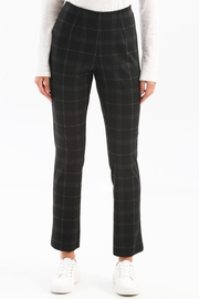 Charlie B. Plaid PDR Pull-On Pant - Front cropped