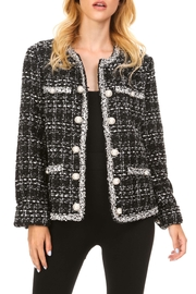 Adore Plaid Pearl Jacket - Product Mini Image