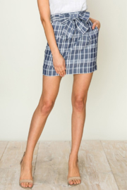 HYFVE Plaid Pencil Skirt - Product Mini Image