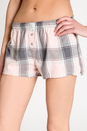 PJ Salvage Plaid Please Short - Product Mini Image