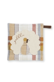 MUDPIE Plaid Pot Holder - Front cropped