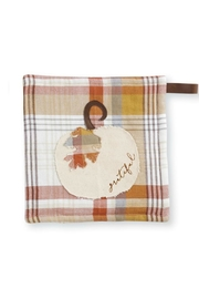 Mud Pie Plaid Pot Holder - Product Mini Image