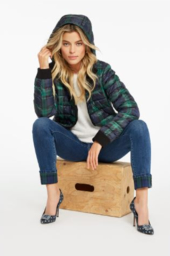 Charlie B. Plaid Puffer Jacket - Alternate List Image