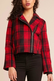 BB Dakota Plaid Red/black Jacket - Product Mini Image