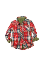 Bit'z Kids Plaid Reversible Button-Up - Product Mini Image
