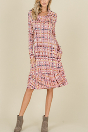 annabelle Plaid, ruffle bottom midi - Product Mini Image