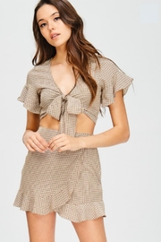 TIMELESS Plaid Ruffle Set - Product Mini Image