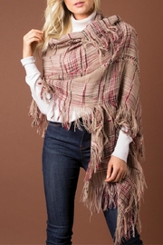 Simply Noelle Plaid Shawl Scarf - Product Mini Image