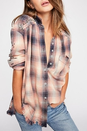 Free People Plaid Shirt - Product Mini Image