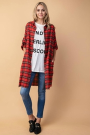 R+D Hipster Emporium  Plaid Shirt Dress - Product Mini Image
