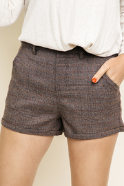 Umgee USA Plaid Shorts - Product Mini Image