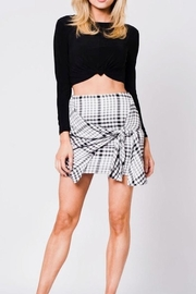 Lux Plaid Skirt - Product Mini Image