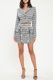 L'atiste Plaid Skirt Set - Product Mini Image