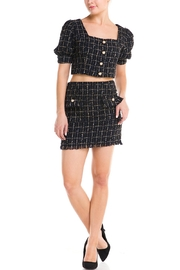 Mad For Love Plaid Skirt Set - Product Mini Image