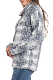 Dylan Plaid Stadium Pullover - Front full body