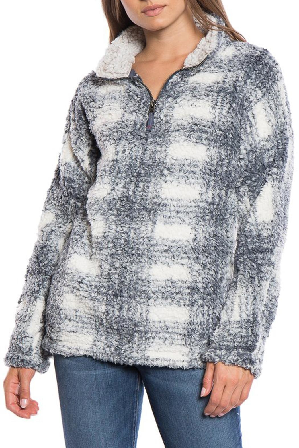 Dylan Plaid Stadium Pullover - Main Image