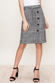 HYFVE Plaid Tie Skirt - Product Mini Image