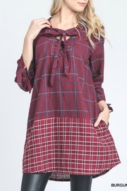Jodifl Plaid Top - Product Mini Image