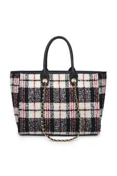 Shoptiques Product: Plaid Tote Bag
