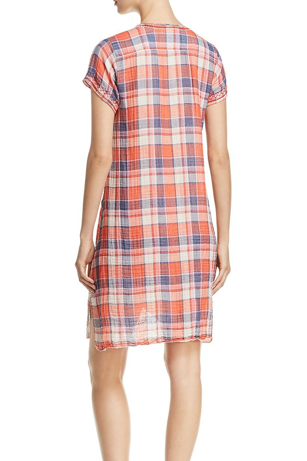 Johnny Was Plaid Tunic/dress - Front Full Image