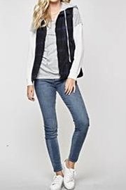 Andree by Unit Plaid Vest - Back cropped