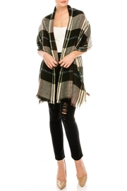 Look by M Plaid Wool Scarf - Product Mini Image