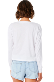 Ripcurl Plains Long Sleeve Tee - Front full body