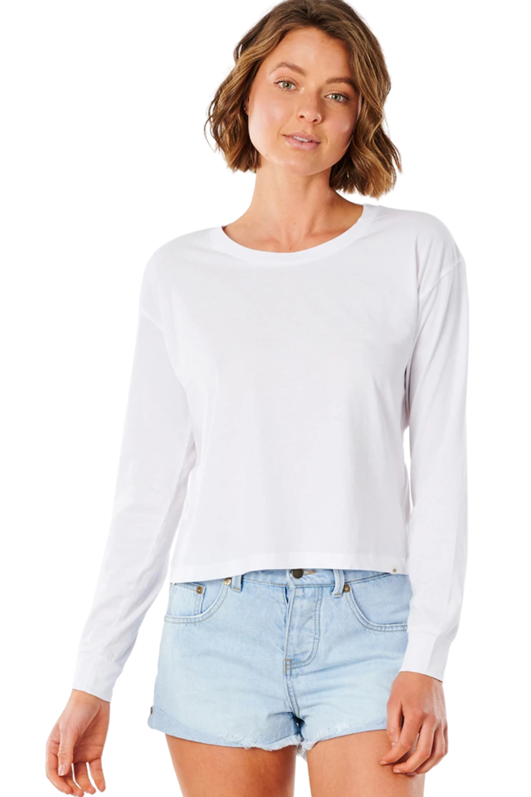 Ripcurl Plains Long Sleeve Tee - Front Cropped Image