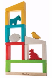 Plan Toys Build a Zoo - Product Mini Image