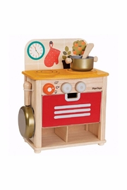 Plan Toys Compact Wooden Stove - Product Mini Image