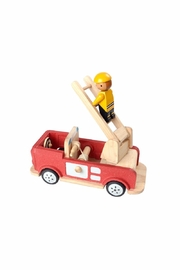 Plan Toys Wooden Fire Engine - Product Mini Image